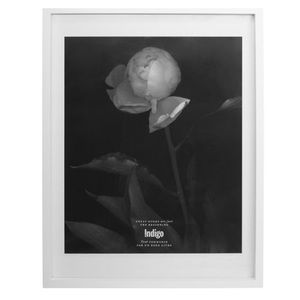 FLAWED large white gallery frame no glass or mat